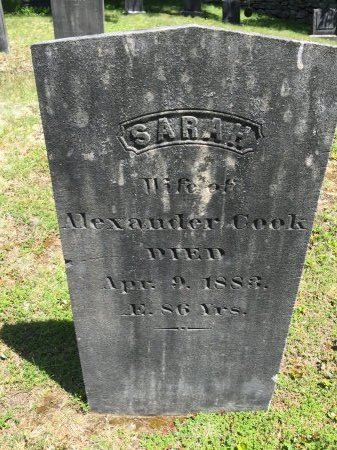 "ARCHER COOK, SARAH ""SALLY"" - Windham County, Vermont 