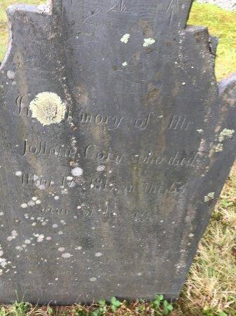 CORY, JOSHUA - Windham County, Vermont | JOSHUA CORY - Vermont Gravestone Photos