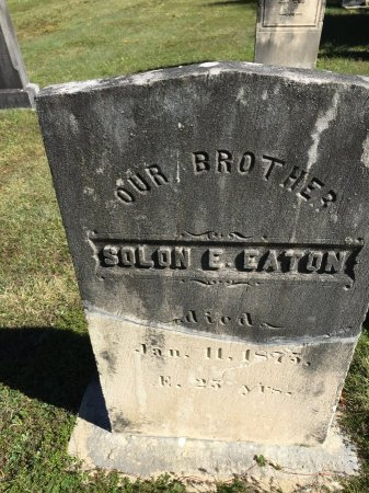 EATON, SOLON E. - Windham County, Vermont | SOLON E. EATON - Vermont Gravestone Photos