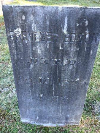 EDSON, EBENEZER - Windham County, Vermont   EBENEZER EDSON - Vermont Gravestone Photos