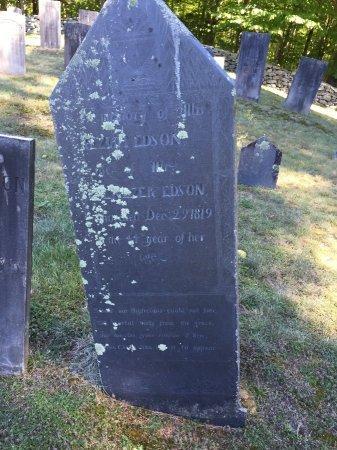 EDSON, KEZIAH - Windham County, Vermont   KEZIAH EDSON - Vermont Gravestone Photos