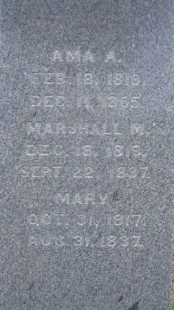 MILLER, MARY - Windham County, Vermont | MARY MILLER - Vermont Gravestone Photos
