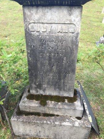 EMERY, LUCY ANN - Windham County, Vermont | LUCY ANN EMERY - Vermont Gravestone Photos