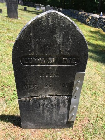 GEE, EDWARD - Windham County, Vermont   EDWARD GEE - Vermont Gravestone Photos