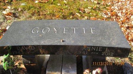GOYETTE, ANNIE LAURIE - Windham County, Vermont | ANNIE LAURIE GOYETTE - Vermont Gravestone Photos