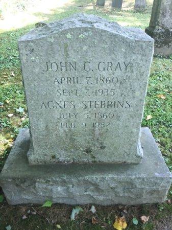 GRAY, AGNES SERINA - Windham County, Vermont | AGNES SERINA GRAY - Vermont Gravestone Photos