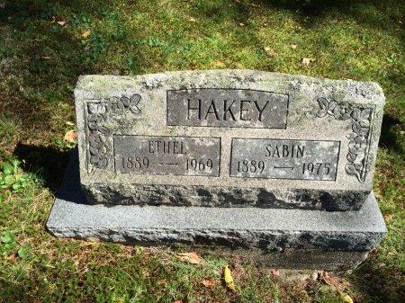 HAKEY, SABIN WILLIE - Windham County, Vermont   SABIN WILLIE HAKEY - Vermont Gravestone Photos