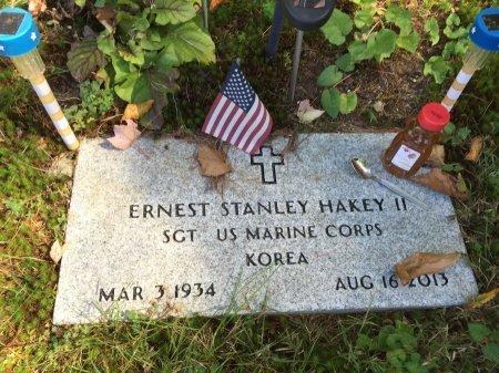 HAKEY II, ERNEST STANLEY - Windham County, Vermont | ERNEST STANLEY HAKEY II - Vermont Gravestone Photos