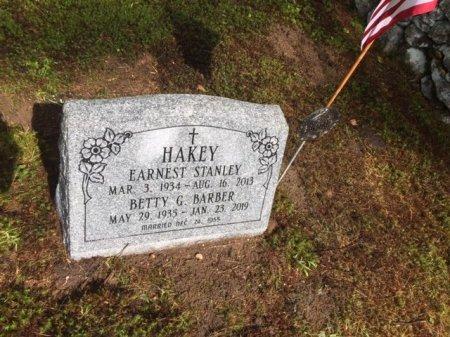 HAKEY, BETTY GWEN - Windham County, Vermont   BETTY GWEN HAKEY - Vermont Gravestone Photos