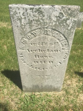 HOWE HOWE, LUCY - Windham County, Vermont | LUCY HOWE HOWE - Vermont Gravestone Photos