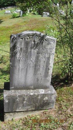 KINGSBURY, FLOSSIE ASHSAH - Windham County, Vermont | FLOSSIE ASHSAH KINGSBURY - Vermont Gravestone Photos