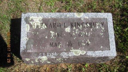KINGSBURY, BERNARD L. - Windham County, Vermont | BERNARD L. KINGSBURY - Vermont Gravestone Photos