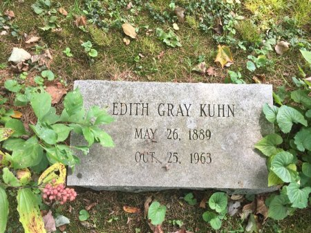 GRAY KUHN, EDITH FLORENCE - Windham County, Vermont | EDITH FLORENCE GRAY KUHN - Vermont Gravestone Photos