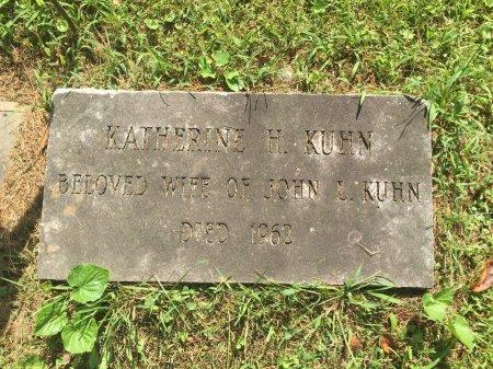 KUHN, KATHERINE H. - Windham County, Vermont | KATHERINE H. KUHN - Vermont Gravestone Photos