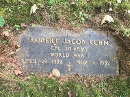 KUHN, ROBERT JACOB - Windham County, Vermont | ROBERT JACOB KUHN - Vermont Gravestone Photos