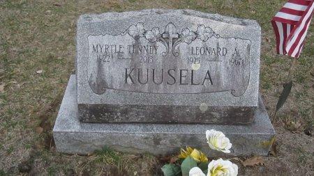 KUUSELA, LEONARD ALBERT - Windham County, Vermont | LEONARD ALBERT KUUSELA - Vermont Gravestone Photos