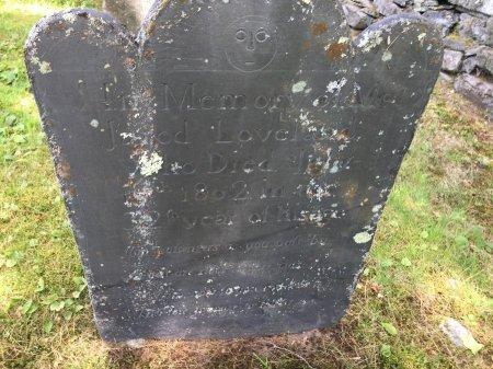 LOVELAND, JARED - Windham County, Vermont   JARED LOVELAND - Vermont Gravestone Photos