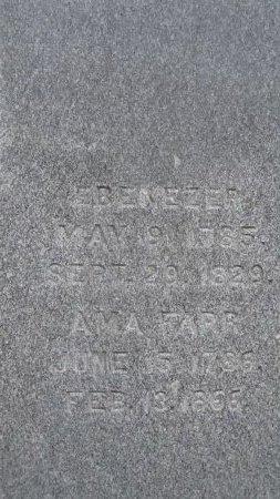 FARR MILLER, AMA - Windham County, Vermont   AMA FARR MILLER - Vermont Gravestone Photos