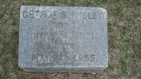 MILLER, GEORGE SIDNEY - Windham County, Vermont | GEORGE SIDNEY MILLER - Vermont Gravestone Photos