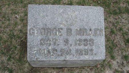 MILLER, GEORGE B. - Windham County, Vermont | GEORGE B. MILLER - Vermont Gravestone Photos