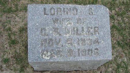 MILLER, LORINDA - Windham County, Vermont | LORINDA MILLER - Vermont Gravestone Photos