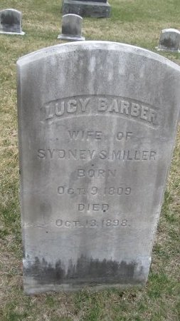 BARBER MILLER, LUCY - Windham County, Vermont | LUCY BARBER MILLER - Vermont Gravestone Photos