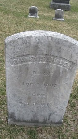 MILLER, SIDNEY SMITH - Windham County, Vermont | SIDNEY SMITH MILLER - Vermont Gravestone Photos