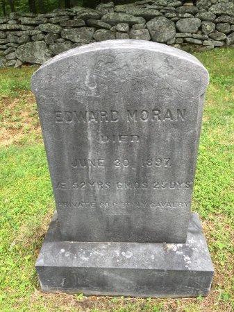MORAN, EDWARD - Windham County, Vermont   EDWARD MORAN - Vermont Gravestone Photos