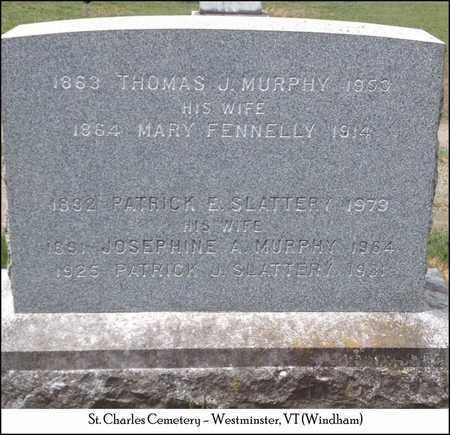 MURPHY, THOMAS J. - Windham County, Vermont | THOMAS J. MURPHY - Vermont Gravestone Photos
