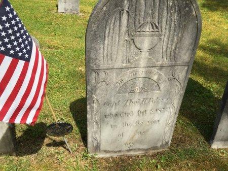 PALMER, CAPT. THOMAS KINNIE - Windham County, Vermont | CAPT. THOMAS KINNIE PALMER - Vermont Gravestone Photos