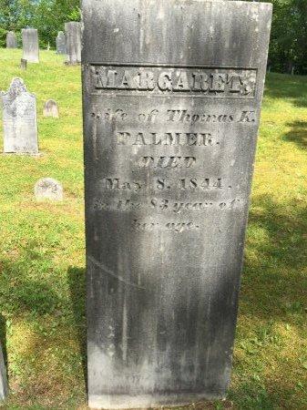 PALMER PALMER, MARGARET - Windham County, Vermont | MARGARET PALMER PALMER - Vermont Gravestone Photos