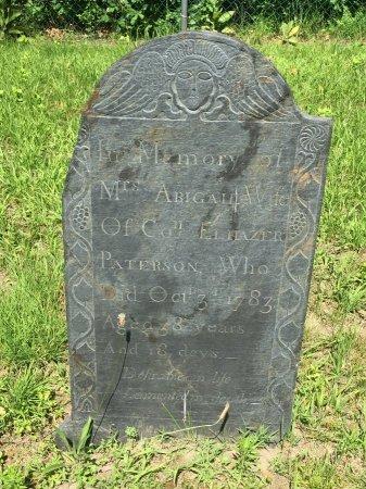 PATERSON, ABIGAIL - Windham County, Vermont   ABIGAIL PATERSON - Vermont Gravestone Photos