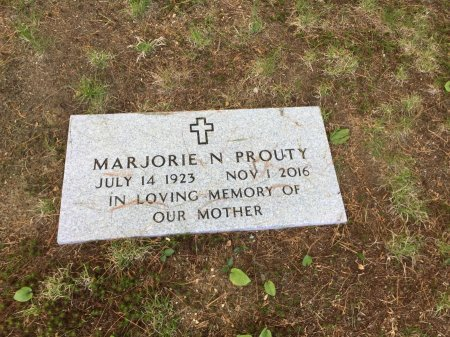 PROUTY, MARJORIE N. - Windham County, Vermont | MARJORIE N. PROUTY - Vermont Gravestone Photos