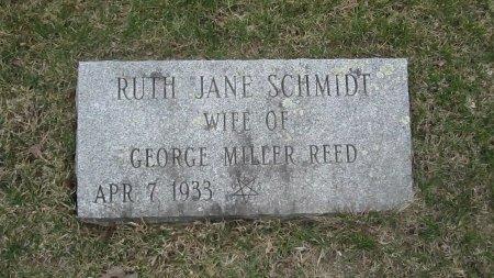 SCHMIDT REED, RUTH JANE - Windham County, Vermont | RUTH JANE SCHMIDT REED - Vermont Gravestone Photos