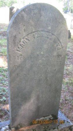 ROBBINS, MARY - Windham County, Vermont   MARY ROBBINS - Vermont Gravestone Photos