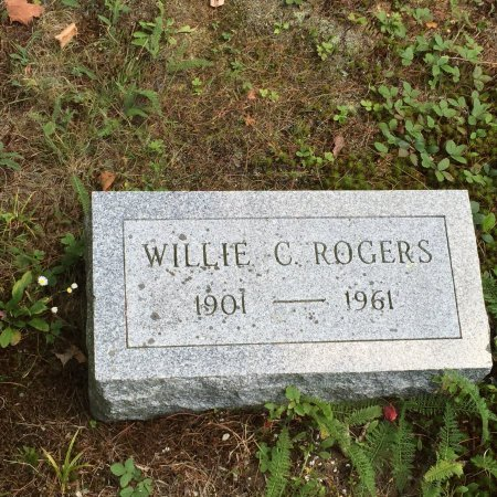ROGERS, WILLIE CALVIN - Windham County, Vermont | WILLIE CALVIN ROGERS - Vermont Gravestone Photos