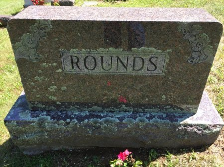 ROUNDS, FAMILY MONUMENT STONE - Windham County, Vermont   FAMILY MONUMENT STONE ROUNDS - Vermont Gravestone Photos
