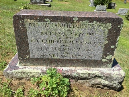 ROUNDS, INEZ A. - Windham County, Vermont   INEZ A. ROUNDS - Vermont Gravestone Photos