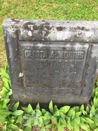 SANDERSON, CLISTA A. - Windham County, Vermont | CLISTA A. SANDERSON - Vermont Gravestone Photos
