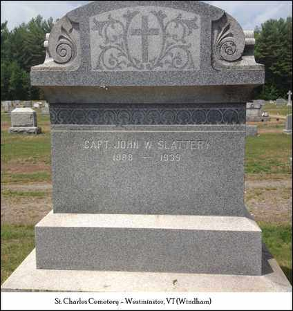 SLATTERY (VETERAN), JOHN WILLIAM - Windham County, Vermont | JOHN WILLIAM SLATTERY (VETERAN) - Vermont Gravestone Photos