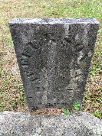 SMALLEY, JEFFERSON - Windham County, Vermont | JEFFERSON SMALLEY - Vermont Gravestone Photos