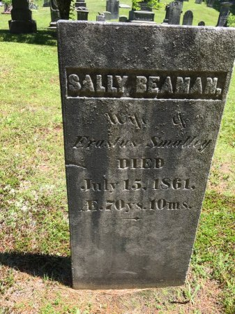 """SMALLEY, SARAH """"SALLY"""" - Windham County, Vermont 