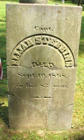 STEBBINS, CAPT. ELIJAH - Windham County, Vermont   CAPT. ELIJAH STEBBINS - Vermont Gravestone Photos
