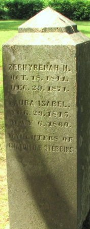 STEBBINS, LAURA ISABEL - Windham County, Vermont | LAURA ISABEL STEBBINS - Vermont Gravestone Photos