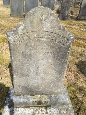 WASHBURN STONE, LUCY LAWRENCE - Windham County, Vermont | LUCY LAWRENCE WASHBURN STONE - Vermont Gravestone Photos