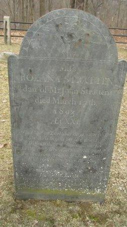 STRATTEN, ROXANA PHILENA - Windham County, Vermont   ROXANA PHILENA STRATTEN - Vermont Gravestone Photos