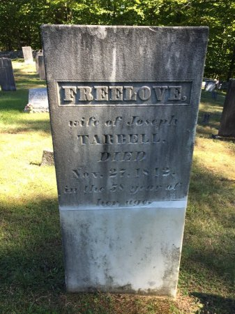 TARBELL, FREELOVE - Windham County, Vermont | FREELOVE TARBELL - Vermont Gravestone Photos