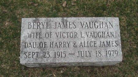 JAMES VAUGHAN, BERYL ALYSON/ALLISON - Windham County, Vermont | BERYL ALYSON/ALLISON JAMES VAUGHAN - Vermont Gravestone Photos