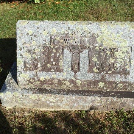 UNWIN WAIT, EVA ELIZABETH - Windham County, Vermont   EVA ELIZABETH UNWIN WAIT - Vermont Gravestone Photos