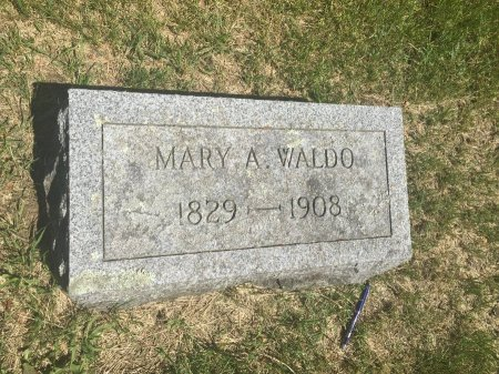 ALLEN WALDO, MARY ANN - Windham County, Vermont   MARY ANN ALLEN WALDO - Vermont Gravestone Photos